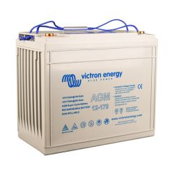 Side of Victron Energy AGM Super Cycle Battery, 170 amp
