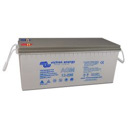 Side of Victron Energy AGM Super Cycle Battery, 230 amp