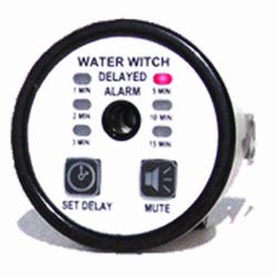 Water Witch PA300 Programmable Bilge Blower Alarm with Mute Control - Round Models
