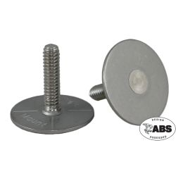 1420122 of Weld Mount 1/4-20 316 Stainless Steel Female Through Threaded Standoff