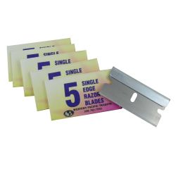 30044 of Western Pacific Trading Single Edge Razor Blades - 5 Pack