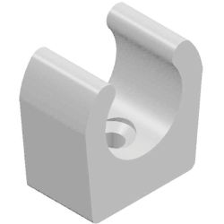 main of Whale Quick Connect Fittings - Tube Mounting Clip (White) - 15mm