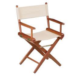 60044 of Whitecap Industries Teak Director's Chair