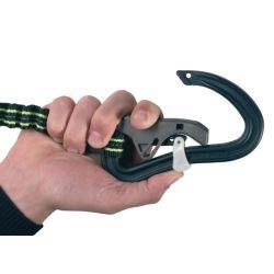 ProLine Tether - 1 Safety Snap Hook, Elastic, 1.40 m