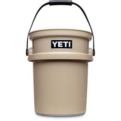 tan of Yeti Coolers LoadOut 5 Gallon Work Bucket