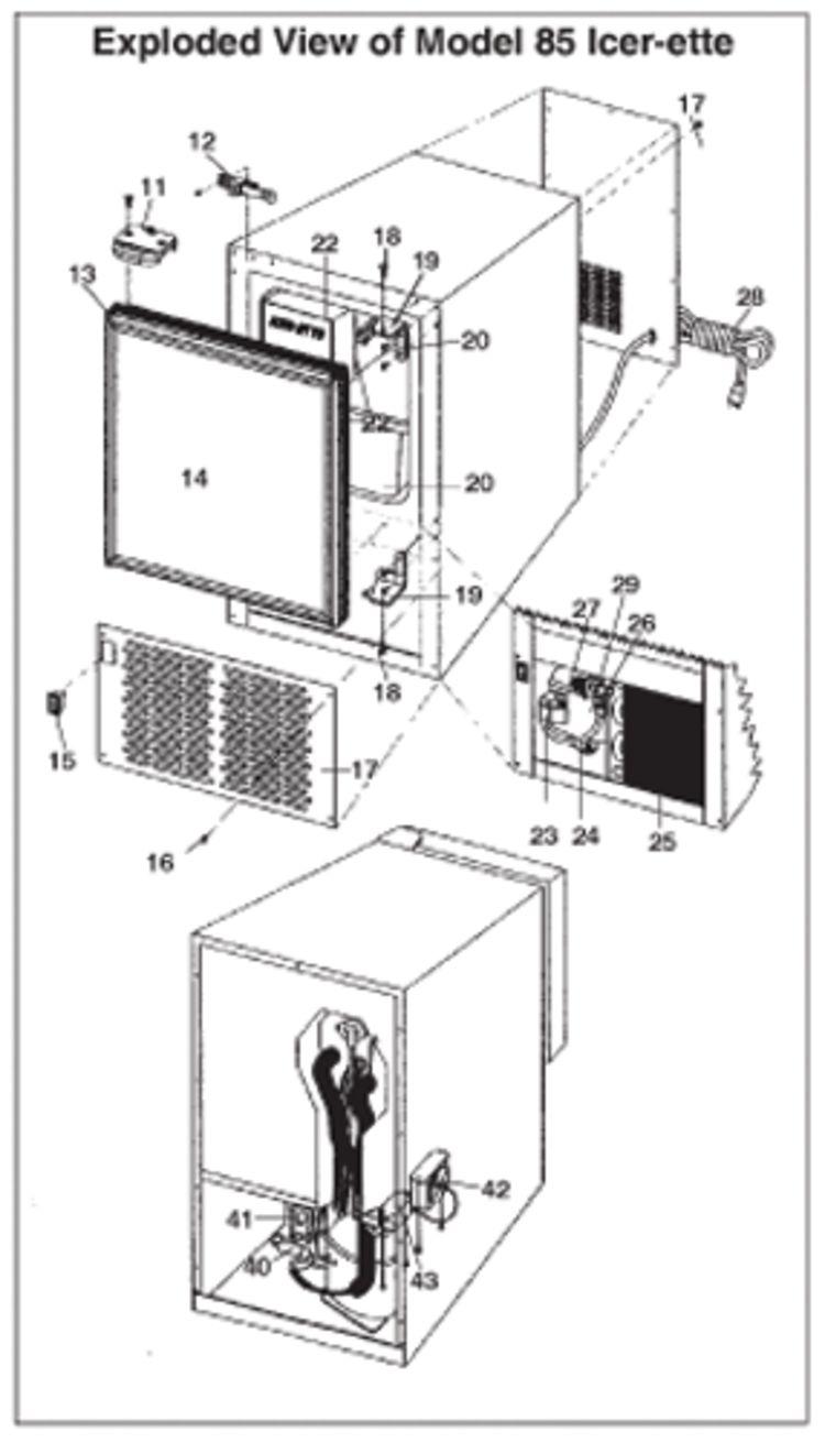 icer ette ice maker wiring diagram