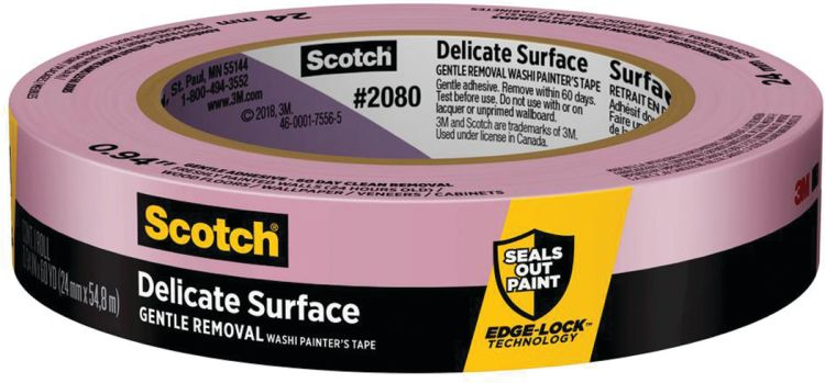 3m 2080 delicate surface masking tape