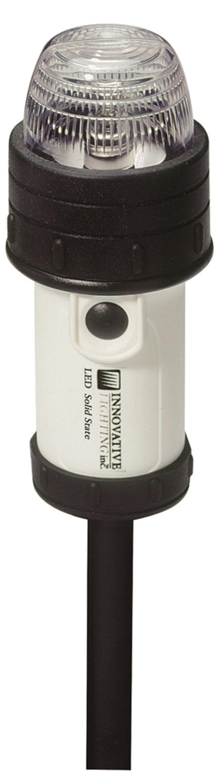 LED Battery Operated Stern Navigation Light - Pole Mount