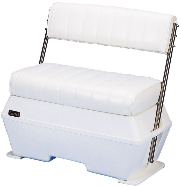 Superb Deluxe Swingback Bench Seat Todd Fisheries Supply Inzonedesignstudio Interior Chair Design Inzonedesignstudiocom