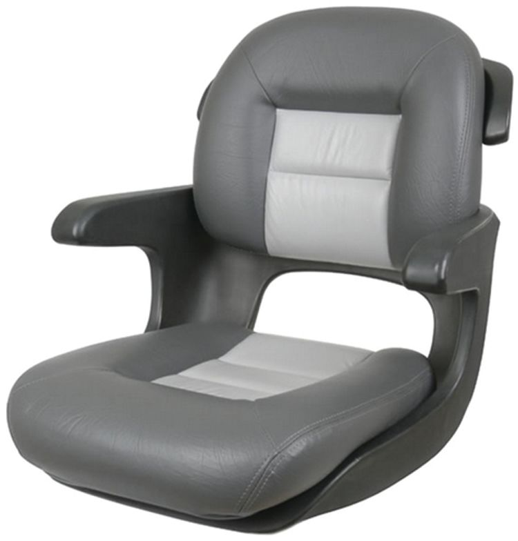 Elite Helm Seat - Low Back Style - Tempress | Fisheries Supply