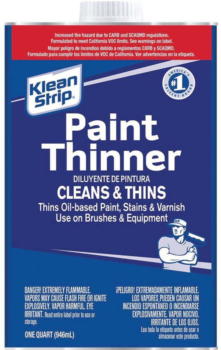 Paint Thinner - Klean-Strip   Fisheries Supply