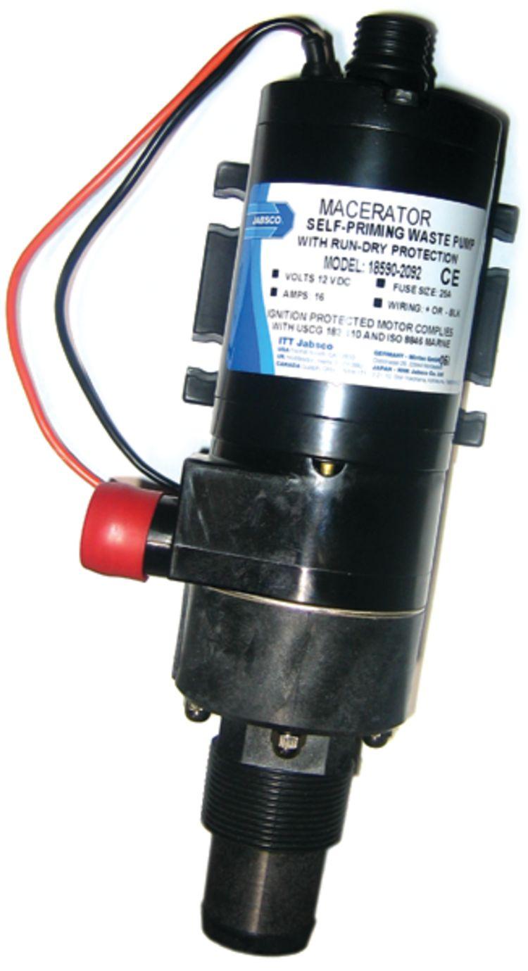 JAB18590-2092 Jabsco Macerator Pump