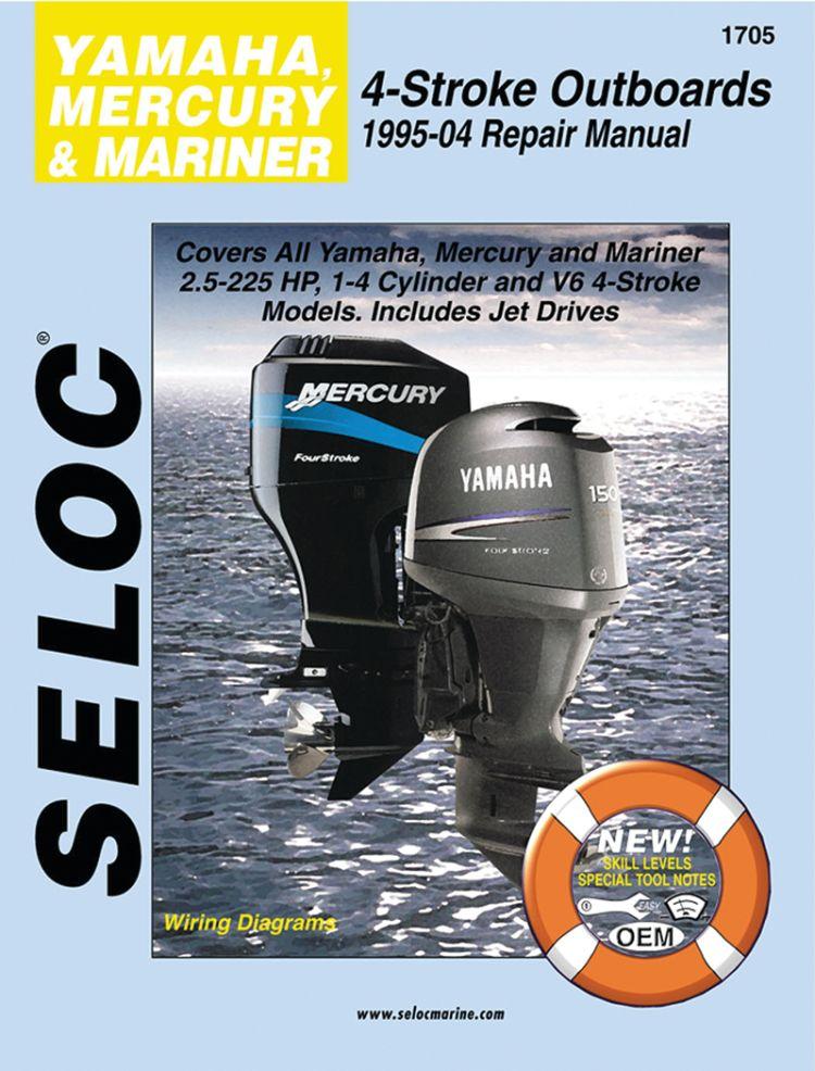 Engine Manual - Yamaha, Mercury, Mariner - All 4-Stroke Engines