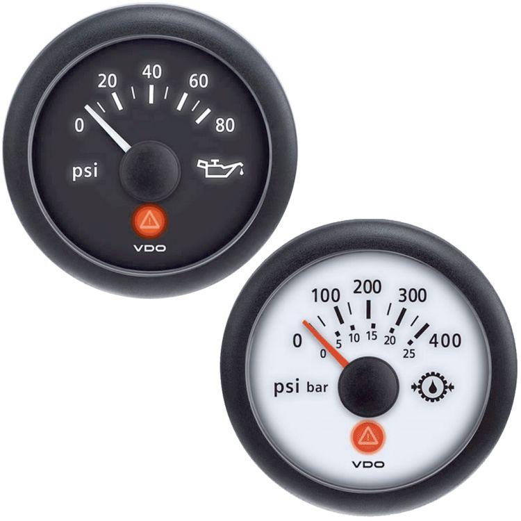 Oil Pressure Gauges, 2-1/16 in