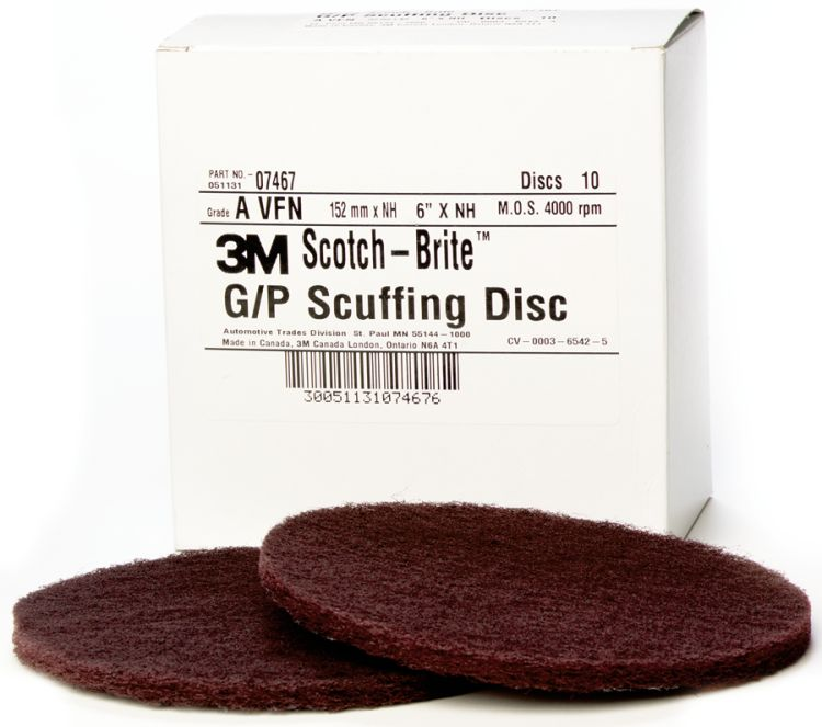 Scotch-Brite Hookit General Purpose Scuffing Disc - 3M