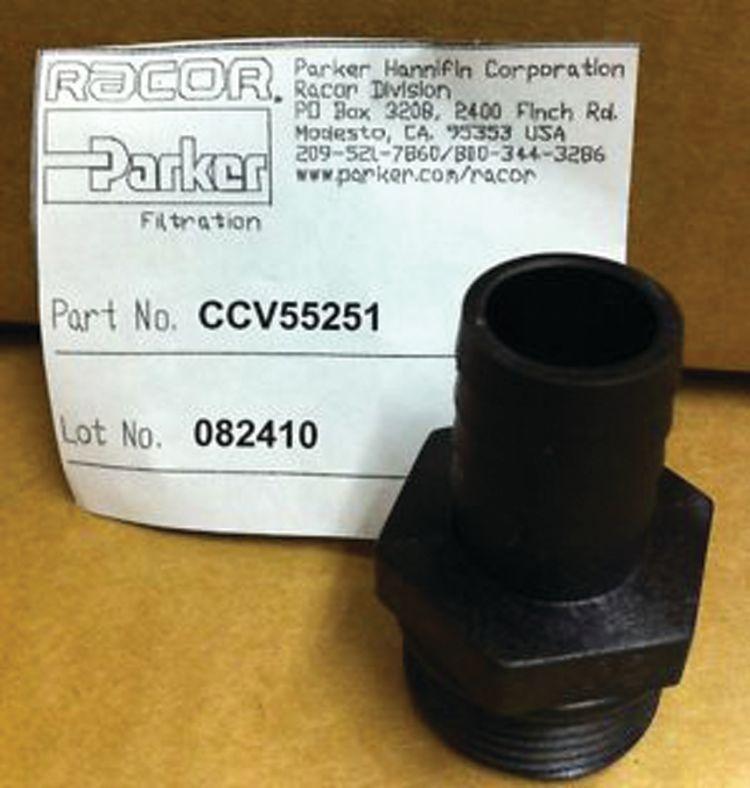 Racor CCV55251 Fitting Crankcase Ventilator