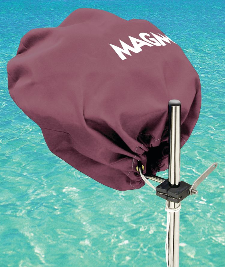 Magma Grills A10-492Bu Grill Cover For Party Size Kettle Grills Burgundy