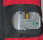 Re-Arm Indicator Showing Green