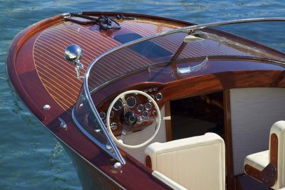 Beautiful Wood Boat