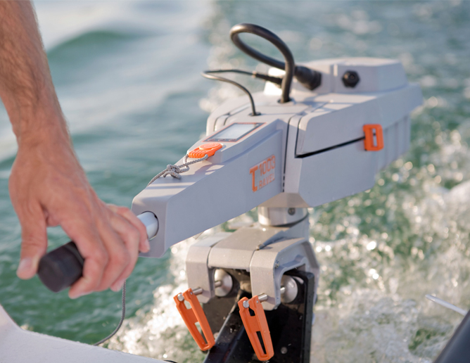 Torqeedo Electric Travel Outboards at Fisheries Supply